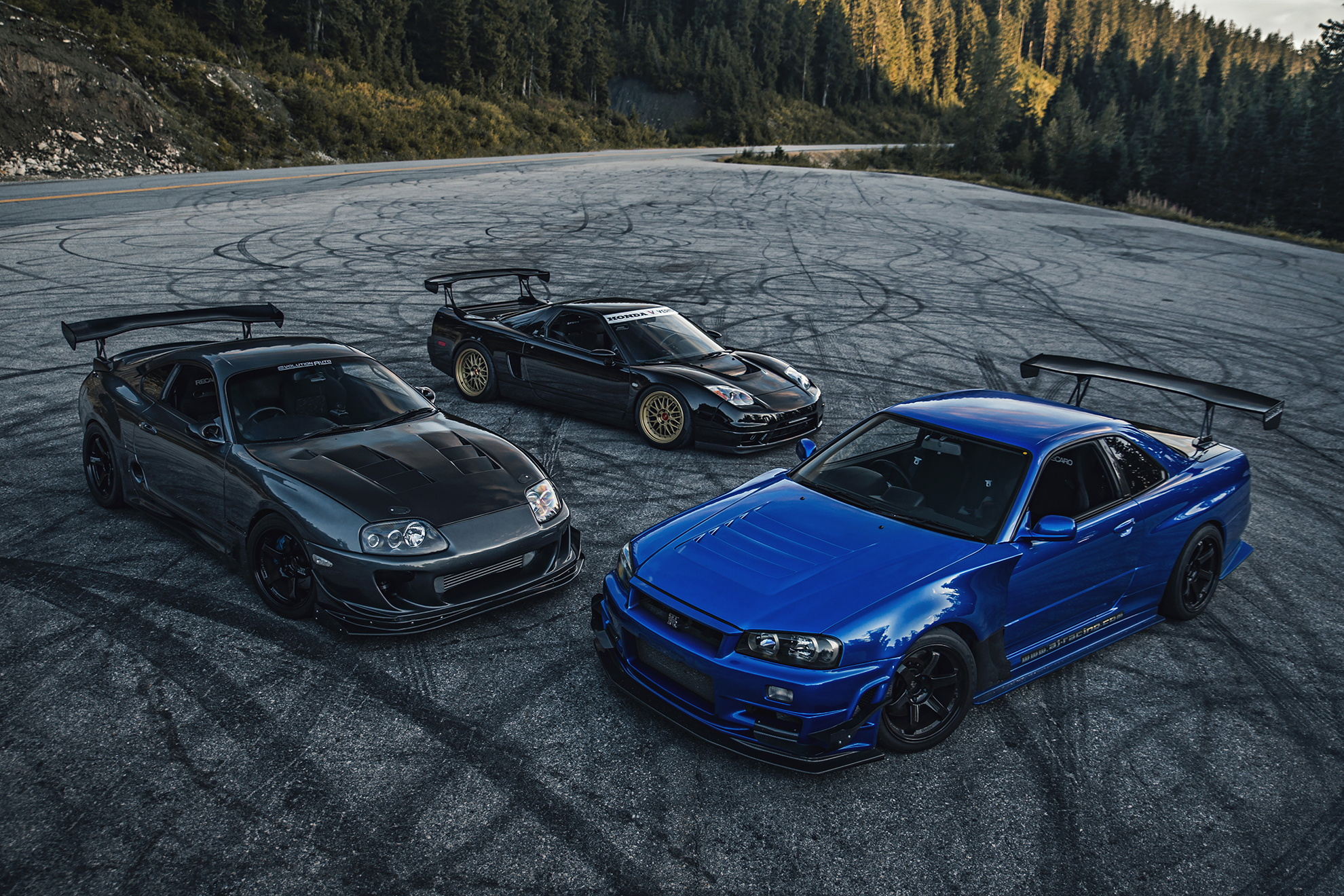 JDM Legends: Supra, NSX, R34 GTR - MARCEL LECH PHOTOGRAPHY